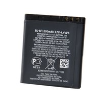 Cheap Big Promotion Price BL-6F Battery For Nokia N78 N79 6788 6788I N95 8G 1200mAh High-End Quality Large Capacity Lithium Replacement Battery