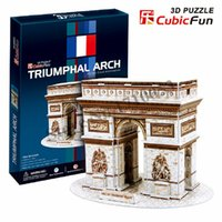 arch c paper - Cubic Fun C series D puzzle Triumphal Arch in France d puzzle paper kids s toys creative diy toys for adults kids