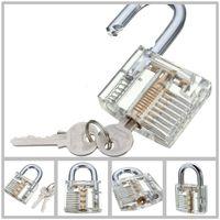 Wholesale Hot Pick Cutaway Inside View Padlock Lock For Locksmith Practice Training Skill