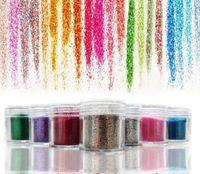 glitter kit - new Environmental tasteless colors kit gel polish glitter powder uv gel polish sequins g