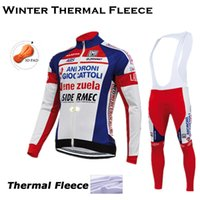 Wholesale 2015 ANDRONI long sleeve Pro cycling jersey sets Winter Thermal Fleece Clothing MTB GEL Pad Bib long pants sets Bicycle Clothes