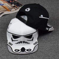 Wholesale 2015 Christmas gifts Men Women Star Wars baseball cap Fashion Darth Vader Trooper Snapback hiphop hats winter autumn hats caps hot on ebay