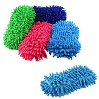 new washer and dryer - Hot New Wet and Dry Dual use Ultrafine Fiber Chenille Anthozoan Car Wash Gloves Car Washer Supplies Auto Soft Washing Cloths A17