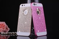 rhinestone cell phone cases - Luxury Diamond PC Colorful Case Acrylic Protective Cell Phone Shell For iphone plus DHL Free