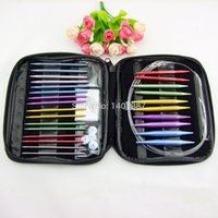 circular knitting needles - High quality aluminum change head circular knitting needle set