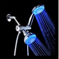 Cheap LED Hand Held Shower Sets Temperature Control Fit For Shower Bath GLTH000770