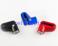 Wholesale DHL Freeshipping Scooter Bike Bicycle Motorcycle Anti theft Lock wth keys