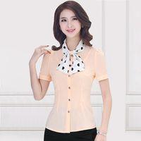 batik dress code - White cotton shirt dress shirt OL slim female occupation code base shirt long paragraph sweater