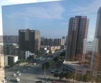 Wholesale 2pcs cmx2m Silver Insulation Window Film Stickers Solar Reflective One Way Mirror G075