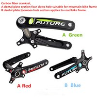 Cheap New shipping! Future bicycle parts crank crankset Ipomoea hole and four-hole two claws