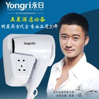 Wholesale Wujing endorsement Ever day the real thing Wall mountable hair dryer Star rated hotels blower Hotel hair dryer