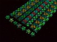 Wholesale 7 packs handcraft luminous stars glow in dark glass wishing star lucky stars papercranes origami Folden Paper DIY gift
