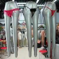 Wholesale New Design Inflatable Leg Mannequin Leg Model Female Leg Manikin On Sale