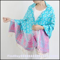 air conditioning factory - The new P2016 rotary air conditioning flowers shawl jacquard scarf scarves Lijiang national cashew factory
