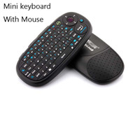 Wholesale Bluetooth Wireless Mini keyboard mouse in Handheld game keyboard with mouse for HTPC Android TV PC vehicle mounted computer