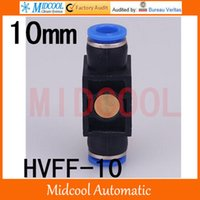 temperature controlled water valves - HVFF pneumatic joint manual switch valve air fittings mm Tube