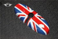 car mirror flag cover - nterior Accessories Interior Mirrors ABS Car Interior Rearview Mirror Cover Classic style UV Protected Union Jack Checker Flag For