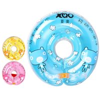 Wholesale Baby Neck Float Safety Baby Swimming Ring Foldable Boy s Girl s Swimming Neck Ring Inflatable Pool Toys JF0031 smileseller
