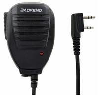 Wholesale Original BaoFeng Handheld Speaker Mic Microphone for Kenwood Walkie Talkie BaoFeng UV R UV RA UV RC UV B5 BF S TG UV2 PX K Radios