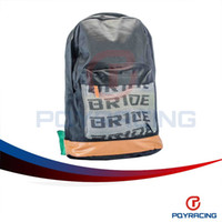 Wholesale PQY STORE JDM BRD Green TAK Harness Backpack Laptop Graduation Bag Drift Race School PQY BB01G