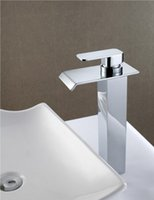 Wholesale Cloud Power Ceramic Valve Core Sink Faucets For Bathroom Hot and Cold Faucets Taps with Chrome plated Brass