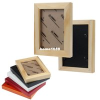 mounted photo frames - Fashion Wooden Wall Mounted Hanging Photo Frame Of Home Decor
