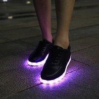 Cheap Men & Women Casual Shoes Best USB LED Shoes