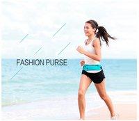 band purses - Running Belt Fashion Purse Multi Functional Close Fitting Outdoor Travel Bag Sports Equipment Belt Running Gym Band Waist Bags