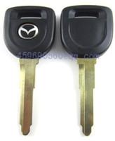 transponder key blank - KL28 Replacement Transponder Car Remote Case Fob Shell Car Key Blank for Mazda high quality factory derect sale