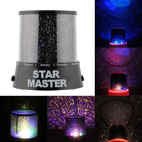 Nouveau Hot Magic 4 LED Sky Star ciel étoilé projecteur Night Light Lamp Nursery Home Display Cadeau Jouet Chambre