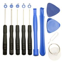 Wholesale 11 in Screw Driver Tool Kits Cell Phone Repair Tool Set For iPhone Samsung HTC Sony Motorola LG