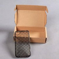 Wholesale CM Corrugated Paper Packing Box for Mobile phone cover kraft or White color