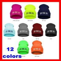Wholesale New Hot Bad Hair Day Beanie hat caps winter hiphop caps Knitted hats for women men fashion skull cap Hip hop Popular Beanie