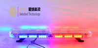 red and blue strobe lights - Factory price police car led Warning red and blue Led Lightbars Lamps led Flashing Strobe warning Lightbar