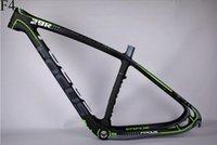 2016 T1000 UD bicicleta cuadro de la bicicleta de carbono MTB bicicleta de montaña de marcos 26er 29er 27.5er pulgadas marco + clamp + headset 15,5 17,5 19,5