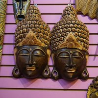 bedroom decorating crafts - Wooden crafts Hang wall act the role ofing facebook Carved wooden masks of south east Asia The sitting room decorated club