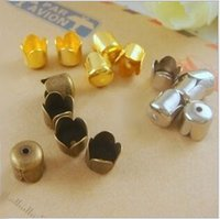 Wholesale 20PCS MM Hollow Flower Bead Bases for the mini Hollow Glass bottles
