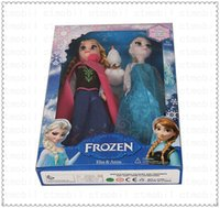 Wholesale DHL Frozen Anna Elsa olaf Toys Princess dolls Inch Nice Gift Playset For Kids Girls