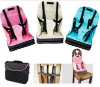Wholesale Baby Booster Seat Travel High Chair Portable Light Weight Foldable Easy Carry