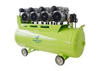 Silenciosa Oil Free Oilless <b>Air Compressor</b> 2400W 120L Tanque Pistão Tipo de equipamento TDOU-GA-64 One By Chair Quatro Dental