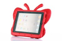 ipad2 10 inch - iPad Mini iPad2 Cases inch Cover Case Butterfly ShockProof Resistance Cover Stand Protective Casing EVA Foam