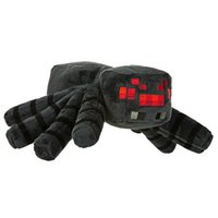 brand toys - Minecraft Big Spider Plush toys for children Good quality Cheap top Deluxe Large Dolls Cartoon With Tag GIFTs toy New brands cm