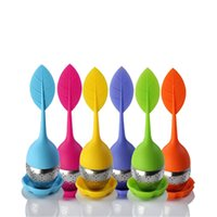 Wholesale 2015 Cute Filter Device Tea Strainer Ball Seasoning Packet Infuser Tea Unique Design for Sale EB DN15553