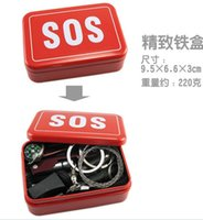 Wholesale New Wild equipment outdoor emergency box field survival box self help SOS equipment for Camping Hiking pic
