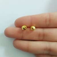 Wholesale Acrylic faceted spacer loose beads Charms cell mobile bag beauty jewelry making necklace Connector earrings findings accessorie materials