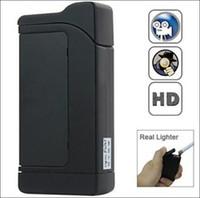 Wholesale P Real Lighter spy Hidden Camera DVR Viberation Motion lighter video lighter hidden spy video recorder camera