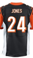 adam jones football - Factory Outlet Men s Adam Jones Jersey Elite Black Orange White Stitched Name And Number