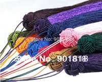 Cheap 5pcss lot mixed colors Meryl tassel Chinese knot tassel Purl Macrame Jewelry Accessory F2418