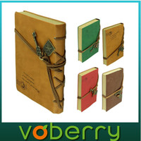 Wholesale Fashion New Vintage Classic Soft leather notebook for Daily Memos Super Gift quality first