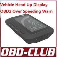bentley car seat - 2015 Car HUD Vehicle Head Up Display OBDII OBD2 for car Speeding Warning display LCD F01